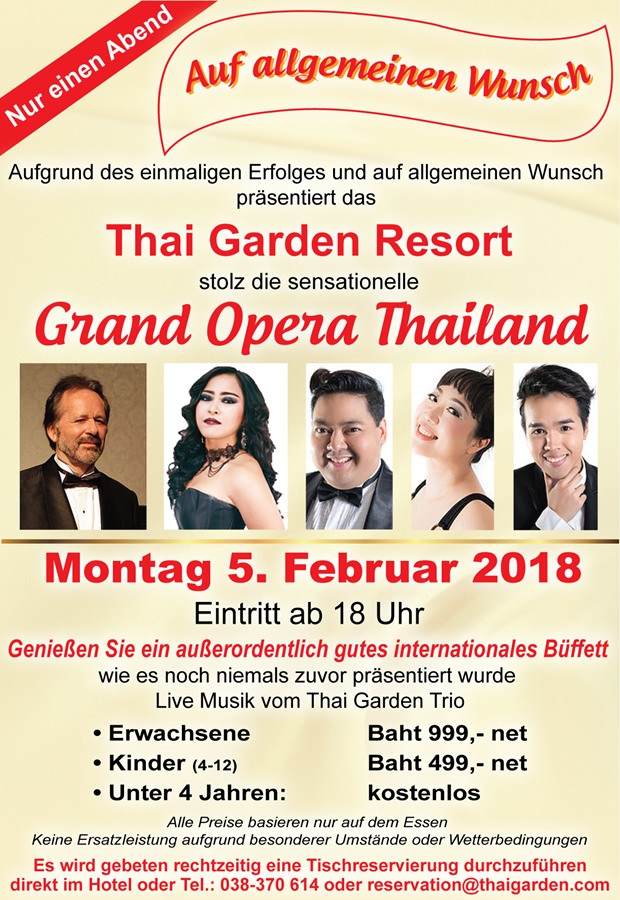 THAI GARDEN RESORT-Concert