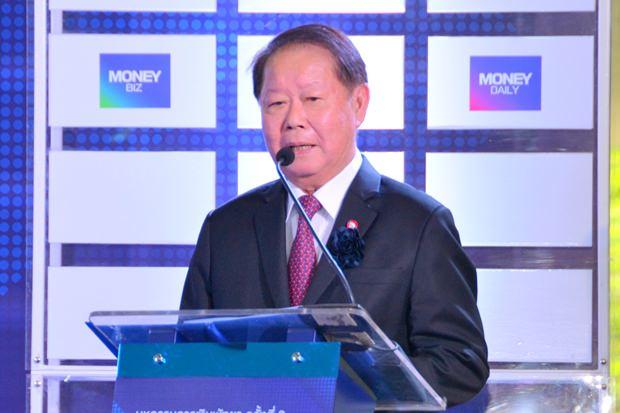 Finanzminister Wisudhi Srisuphan eröffnet die 8. Money Expo Pattaya.