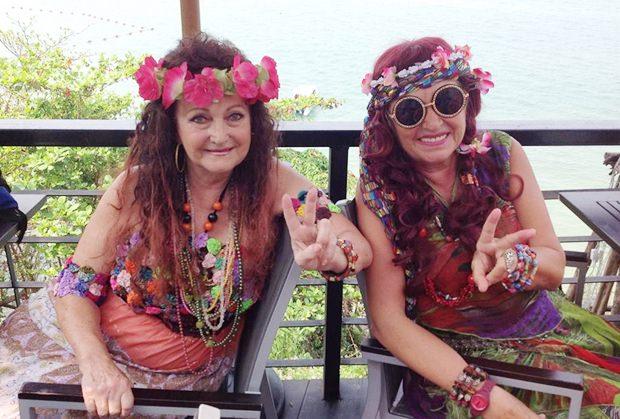 So sehen echte Hippies aus – richtig?