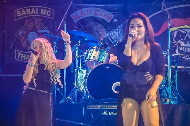 Zwei Mitglieder der legendären Isara Band nahmen an dem Event ebenfalls teil.