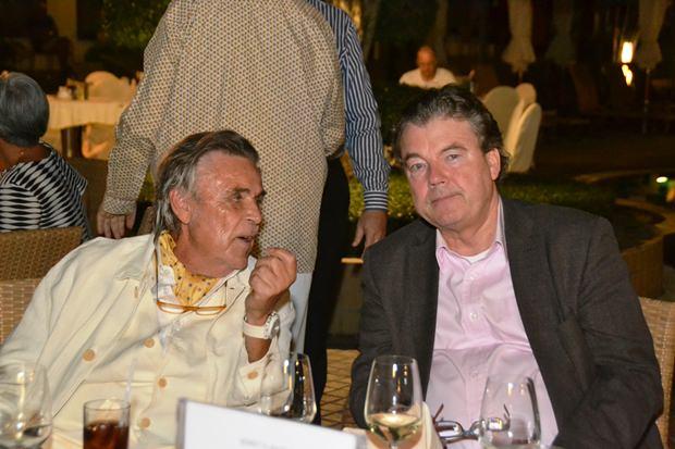 Thomas Stritzl (rechts) im Gespräch mit Axel Brauer.