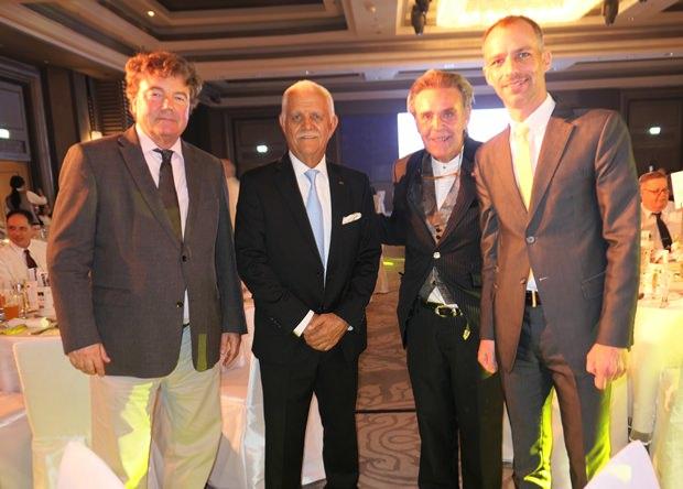 Von links:  Thomas Stritzl, Hagen Dirksen, Axel Brauer und Jan Scheer von der Deutschen Botschaft.