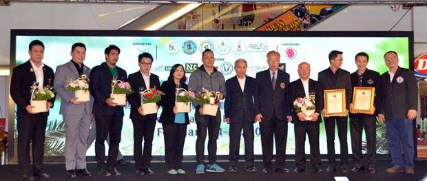 Sukree Supawareekul hatte den Vorsitz bei dem Event.