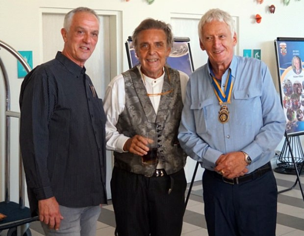 """Drei echte """"Macher"""": Rainer Heinzmann, Axel Brauer und Peter Schlegel."""