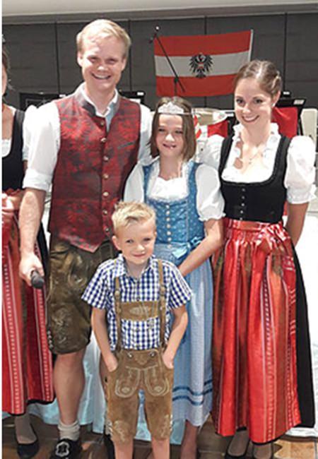 Die beiden Sieger beim Kinder-Wettbewerb, Maximilian und Katharina.