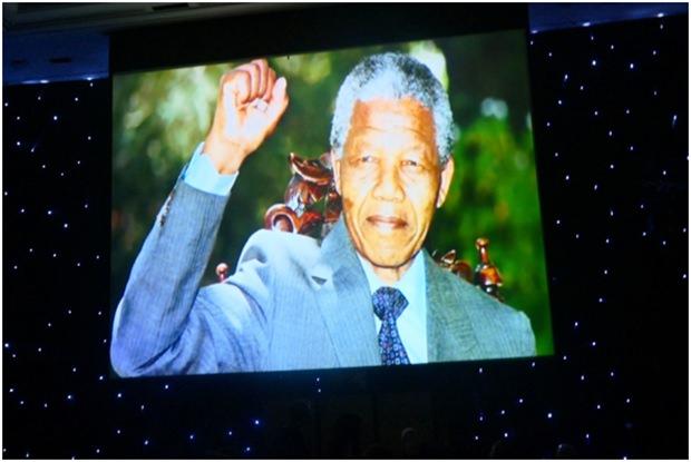 Sein 100. Geburtstag wurde gefeiert: Nelson Mandela.