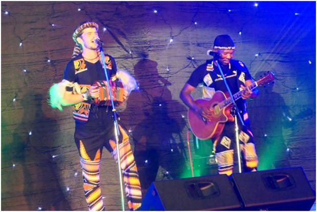 Das hervorragende Duo aus dem Zululand: Qadasi & Maq.