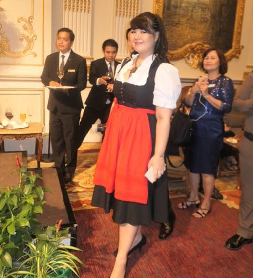 Pressechefin Aranja Bermüller