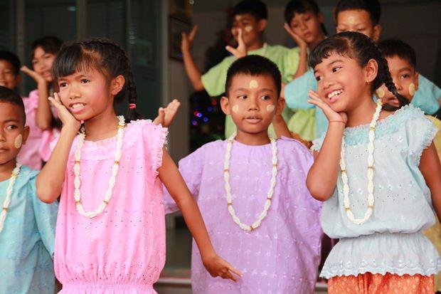 Die Kinder boten eine tolle Tanzshow.
