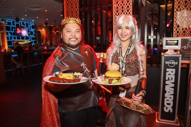 Halloween im Hard Rock Pattaya ist immer sehenswert.