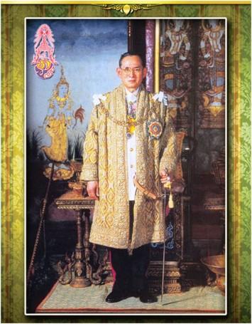 König Bhumibol Adullyadej der Große wird von seinem Vok noch immer wie ein Heiliger verehrt.
