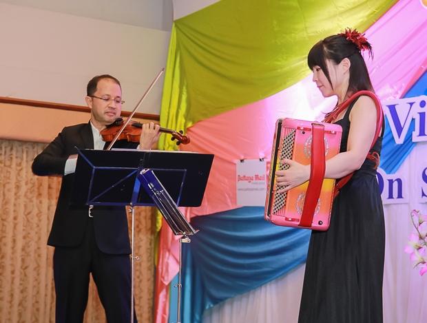 Tasana Nagavajara und Kanako Kato in Aktion.