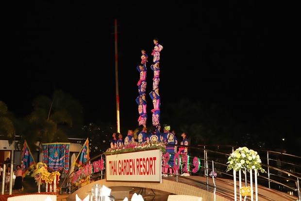 Die chinesischen Akrobaten.