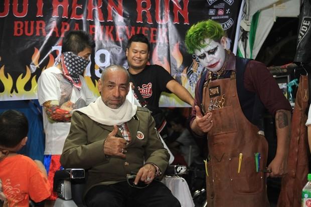Clown Barber Shop ist wieder mit dabei.