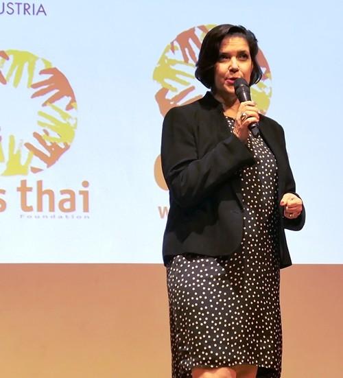 Dr. Andrea Barschdorf-Hager, die CEO von CARE Austria.