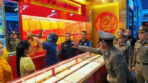 Sornchai Kak Ninsonti, 35, wird des Diebstahls beschuldigt.