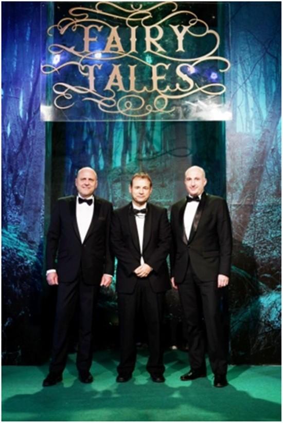 (Von links) GTCC Direktor Dr. Roland Wein, der deutsche Botschafter Georg Schmidt und GTCC Präsident Markus Lorenzini.