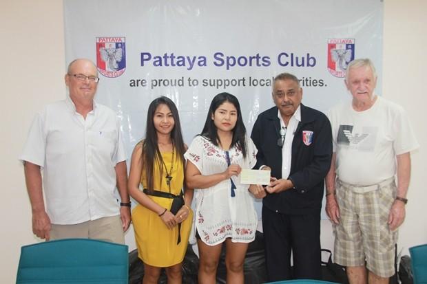 PSC Mitglieder sammelten Geld für die Herzklappen Operation.
