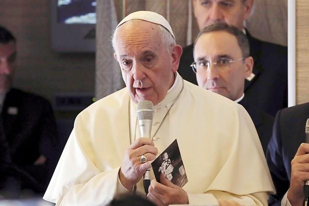 Der VAtikan gab am 13. September 2019 bekannt, dass Papst Franziskus Thailand zwischen dem 20. und 23. November besuchen wird. (AP Photo/Alessandra Tarantino)