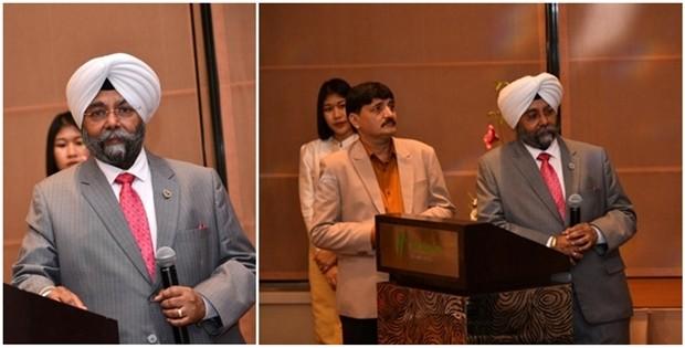 Dr. Kamaljit Singh, der hervorragend durch den Abend führte.