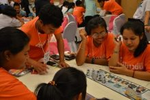 Sechs Schüler haben an dem Kartenspiel-Traininmg teilgenommen und dieses bestanden.