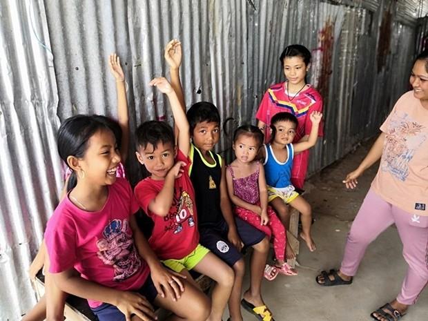 Das Aussenteam der HHNFT besuchte dieses Mal Kinder im Ocean Workers Camp.