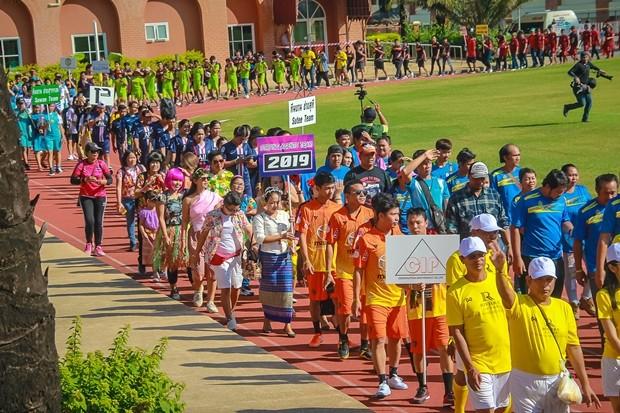 300 Sportler inklusive Angestellter der Rivera Group und Unterstützer nahmen an den Spielen teil.
