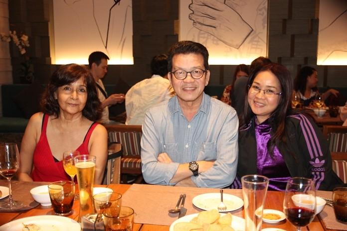 Die Leiter der Pattaya Mail und der Chiang Mail.