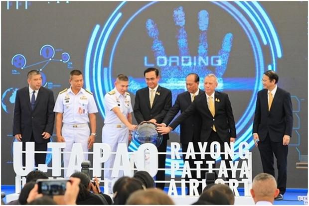 Ministerpräsident Prayut Chan-o-cha leitet die offizielle Eröffnung des zweiten Passagier Terminals auf dem U-Tapao Rayong-Pattaya International Airport.