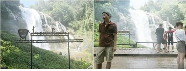Der Wachrathan Wasserfall.