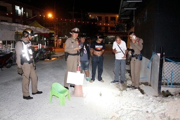 Der 'unschuldige' Seksan Kumnung aus Buriram trug eine Bombe bei sich, die natürlich einem Freund gehörte.