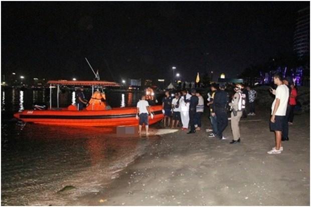 Der erste Tote des Neuen Jahres ertrank im Meer während des Feuerwerks.