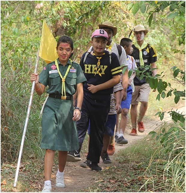 Das Wandern ist des Müller' Lust im Dschungel von Pattaya.