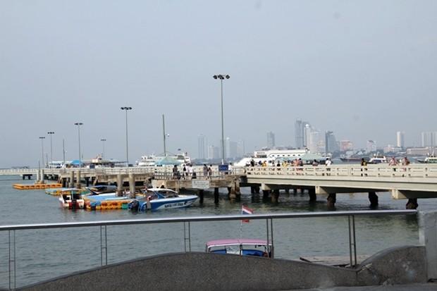 Hafenbeamte meinen, dass an die 80 Prozent weniger Besucher kommen.
