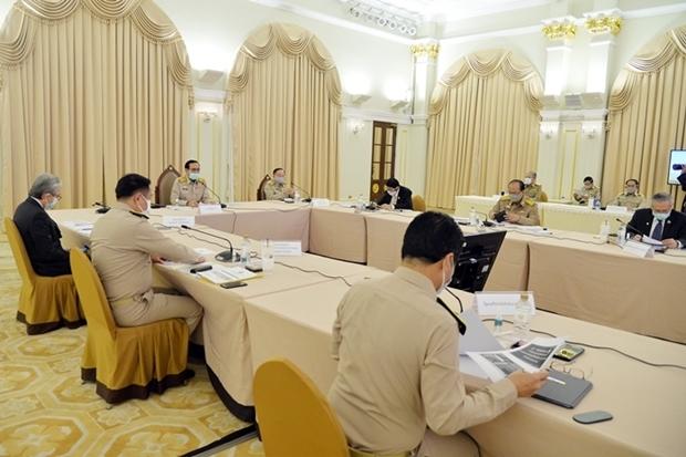 Thailand's Centre for COVID-19 Situation Administration (CCSA) Treffen am 27. April 2020 am Morgen.