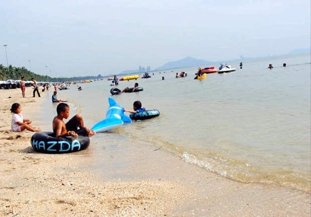 Bang San Strand vor der Corona Krise.