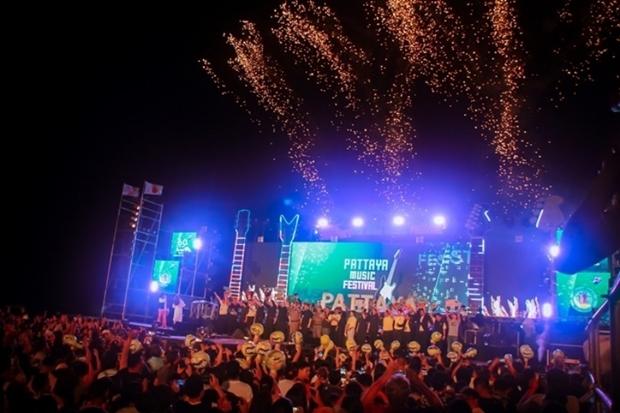 Der Tourismus soll durch das Pattaya Music Festival, Pattaya International Fireworks,und den Pattaya Countdown wiederbelebt werden.
