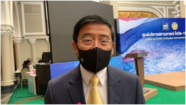 Der Sprecher des Außenministeriums, Cherdkiat Atthakor.