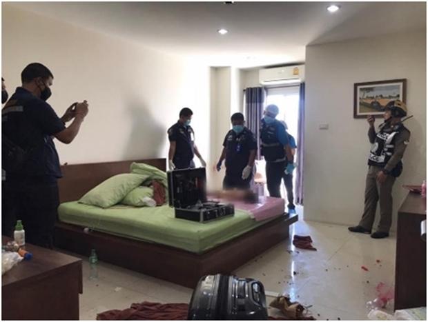 Der Manager eines Apartmenthauses in Naklua-Pattaya, fand das tote kleine Mädchenim Badezimmer der Wohnung.