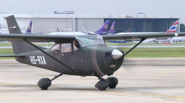 Diese Art Flugzeug kann für Verschiedenes verwendet werden: Patrouille, Wald-Konservation und Drogenhandel Verhinderung.