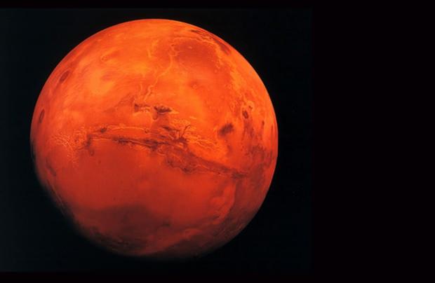 """Der Mars: Ist das unser richtiger """"Heimatplanet""""? (Foto: Planet Wissen)"""