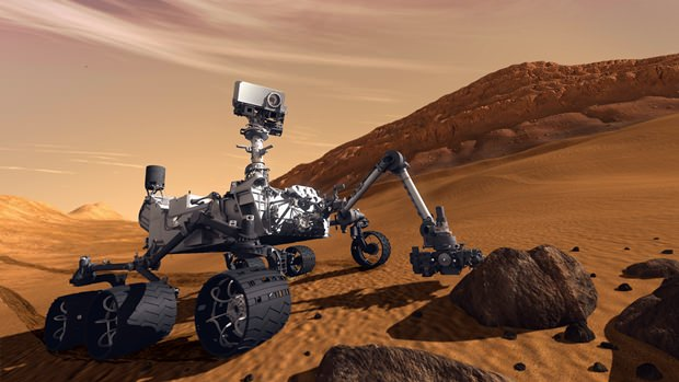 Der Mars Rover soll für weite Reisen verbessert werden. (Foto: Plante Wissen)