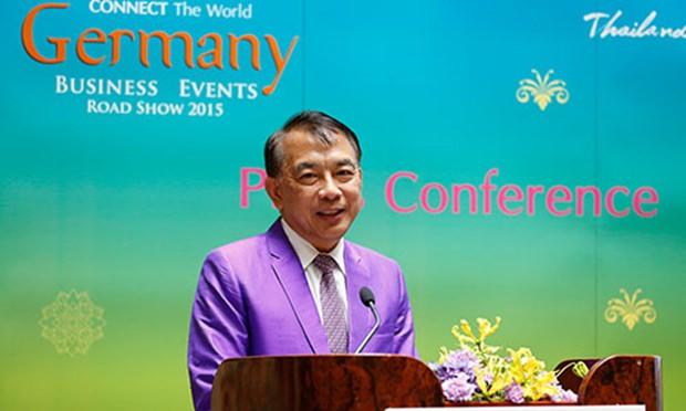 TCEB Präsident Nopparat Maythaveekulchai.