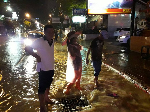 Nord Pattaya Gegend.