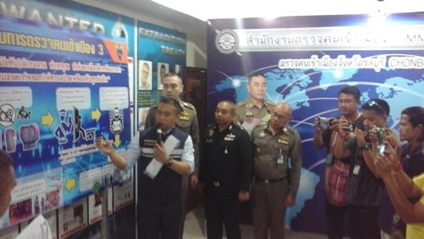 Die Chonburi Immigration Polizei verhaftete die grausame Arbeitgeberin.