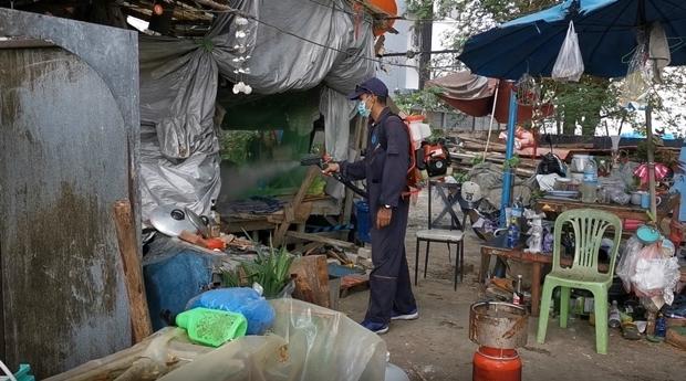 Das Gesundheitsamt Pattaya im Kampf gegen Dengue Fieber.