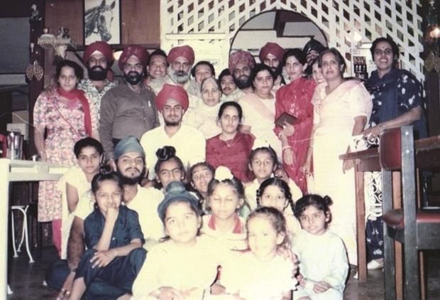 Die Kalra Familie.