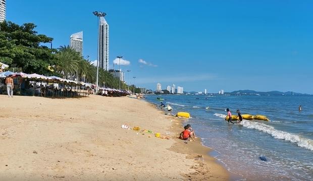 Das Projekt umspannt sieben Kilometer, angefangen vom Pattaya Park bis zum Najomtien Kanal.